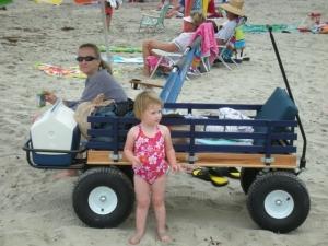 summertime fun at the beach